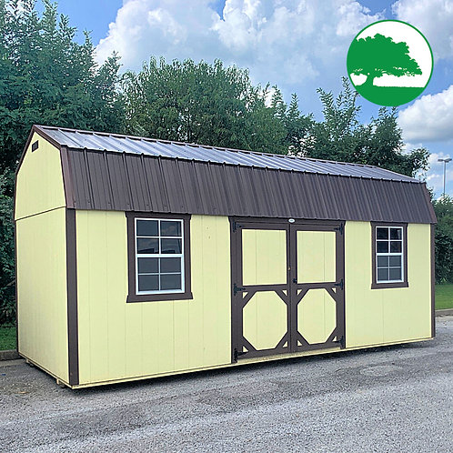 """*SOLD* PRE-OWNED 10' x 20' Painted """"Side Lofted Barn"""""""