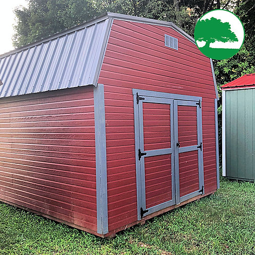 """PRE-OWNED 12' x 32' Painted """"Lofted Barn"""""""