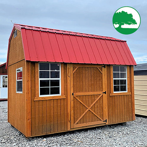"""*SOLD* PRE-OWNED 8' x 12' Treated """"Side Lofted Barn"""""""