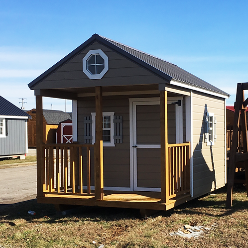 """8' x 12' Painted """"Playhouse"""""""