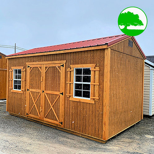"""10' x 16' Treated """"Garden Shed"""""""