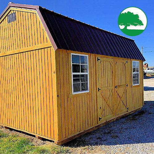 "10' x 16' Treated ""Side Lofted Barn"""