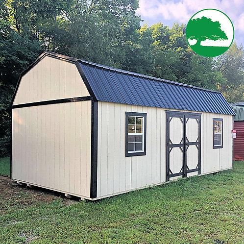 "*DEMO* 12' x 24' Painted ""Side Lofted Barn"""