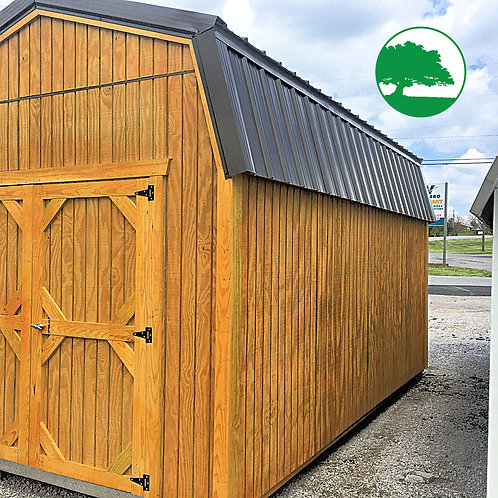 "*SOLD* 10' x 16' Treated ""Lofted Barn"""