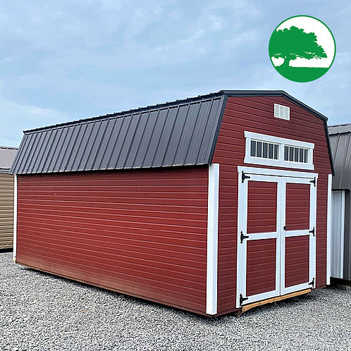 """PRE-OWNED 10' x 20' Painted """"Lofted Barn"""""""
