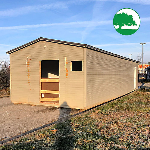 "*SOLD* PRE-OWNED 16' x 40' Dutchlap ""Garden Shed"""