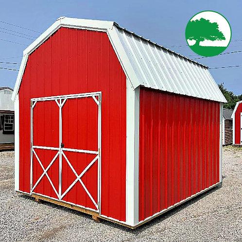 """10' x 12' Metal """"Lofted Barn"""""""