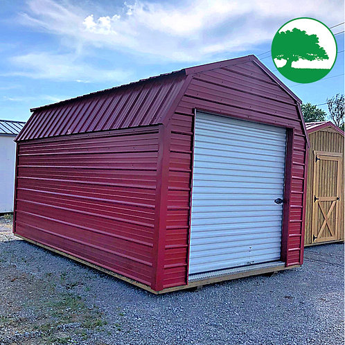 "PRE-OWNED 10' x 16' Metal ""Lofted Barn"""
