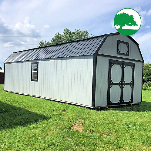 """*SOLD* 12' x 32' Painted """"Lofted Barn"""""""