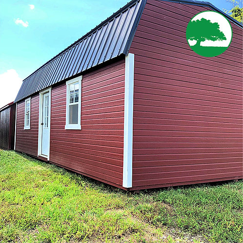 """*SOLD* PRE-OWNED 12' x 28' Painted """"Side Loft Barn"""""""
