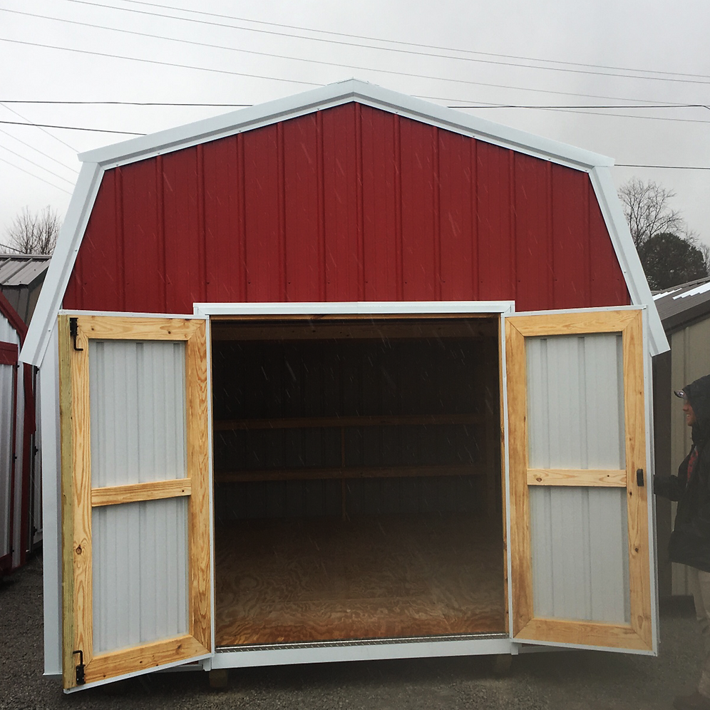 "12' X 20' Metal ""Lofted Barn"""