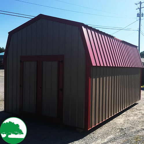 "12' x 18' Metal ""Lofted Barn"""