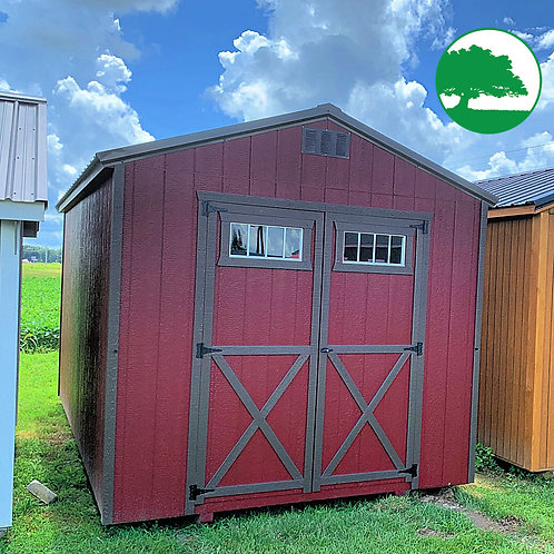 "*SOLD* 10' x 16' Painted ""Utility Shed"""