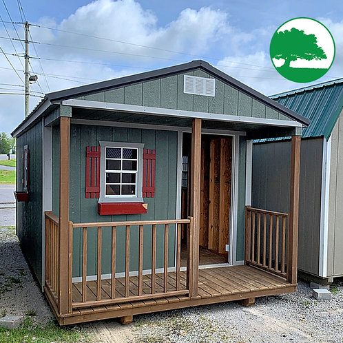 """PRE-OWNED 10' x 20' Painted """"Cabin"""""""