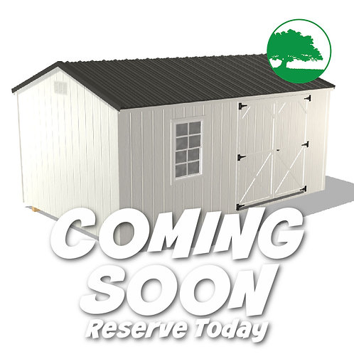 """*COMING SOON* 10' x 16' Painted """"Value Shed"""""""