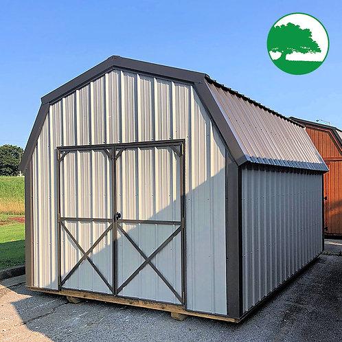 "10' x 16' Metal ""Mid Loft Barn"""