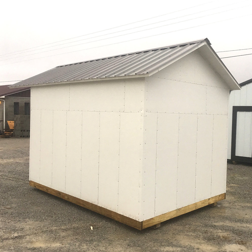 "*SOLD* 8' X 12' Insulated ""A-Frame"""