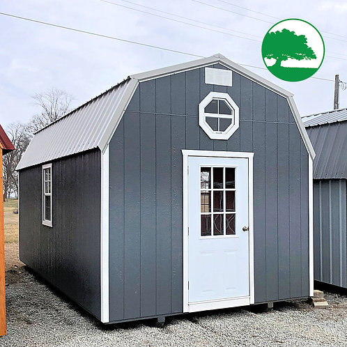 "PRE-OWNED 10' x 20' Painted ""Lofted Barn"""