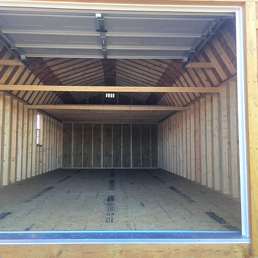"14' X 32' Treated ""Lofted Garage"""