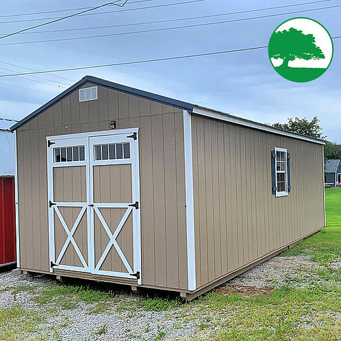 "*SOLD* PRE-OWNED 12' x 24' Painted ""Utility"""