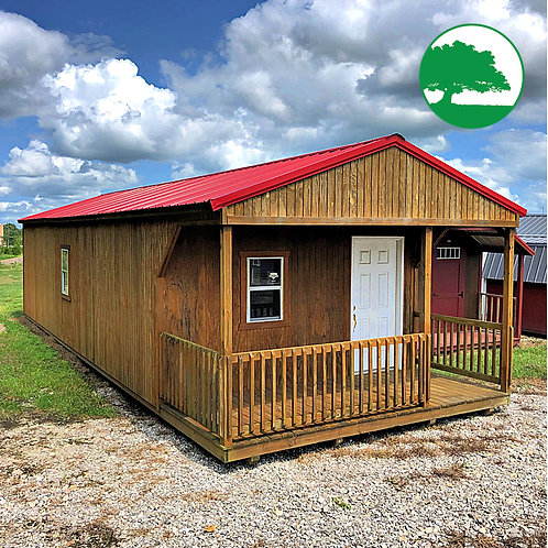 "PRE-OWNED 14' x 40' Treated ""Cabin"""