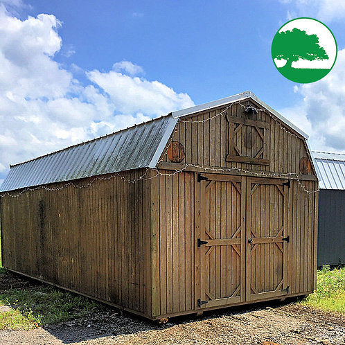 "PRE-OWNED 12' x 24' Treated ""Lofted Barn"""