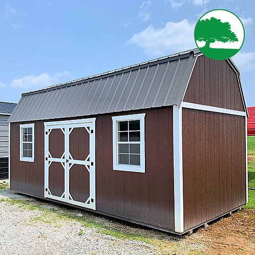 "10' x 20' Painted ""Side Lofted Barn"""