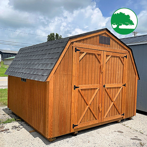 """*SOLD* PRE-OWNED 10' x 10' Treated """"Barn"""""""