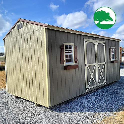 """10' x 20' Painted """"Side Utility"""""""