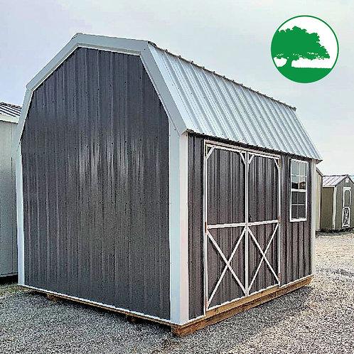 "10' x 12' Metal ""Side Loft Barn"""