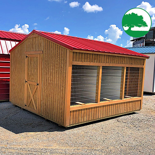 "PRE-OWNED 12' x 12' Treated ""Animal Shelter"""