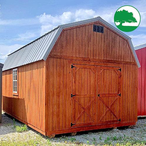 "12' x 20' Treated ""Lofted Barn"""