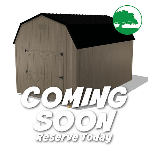 """*COMING SOON* 10' x 16' Painted """"Value Barn"""""""