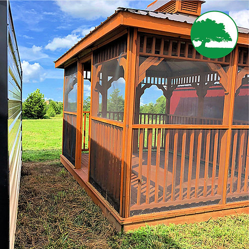 """PRE-OWNED 10' x 14' Treated """"Pavilion"""""""