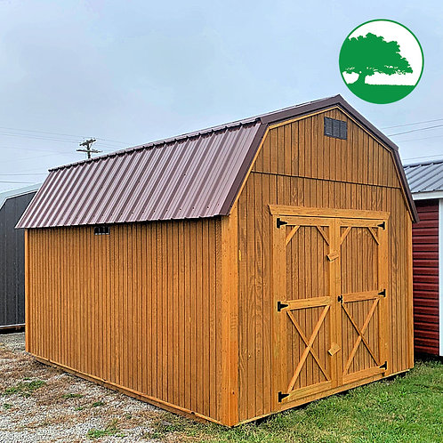 "10' x 16' Treated ""Lofted Barn"""
