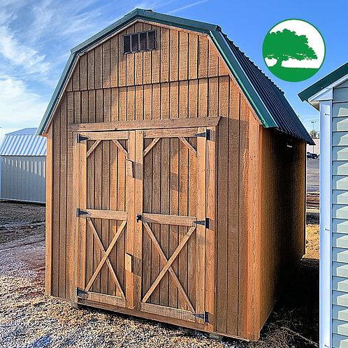 "PRE-OWNED 8' x 12' Treated ""Lofted Barn"""