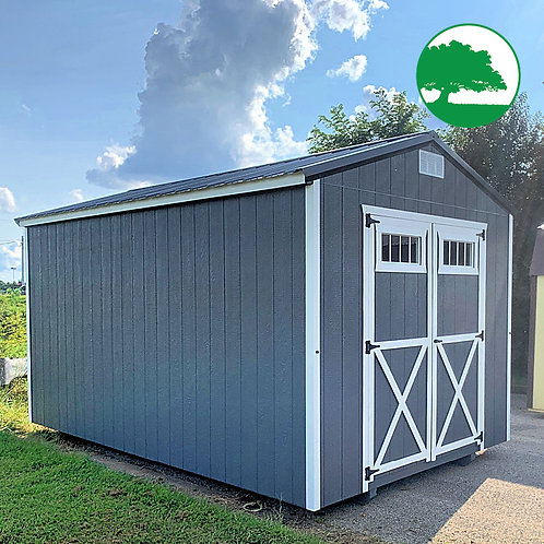 "10' x 16' Painted ""Utility Shed"""
