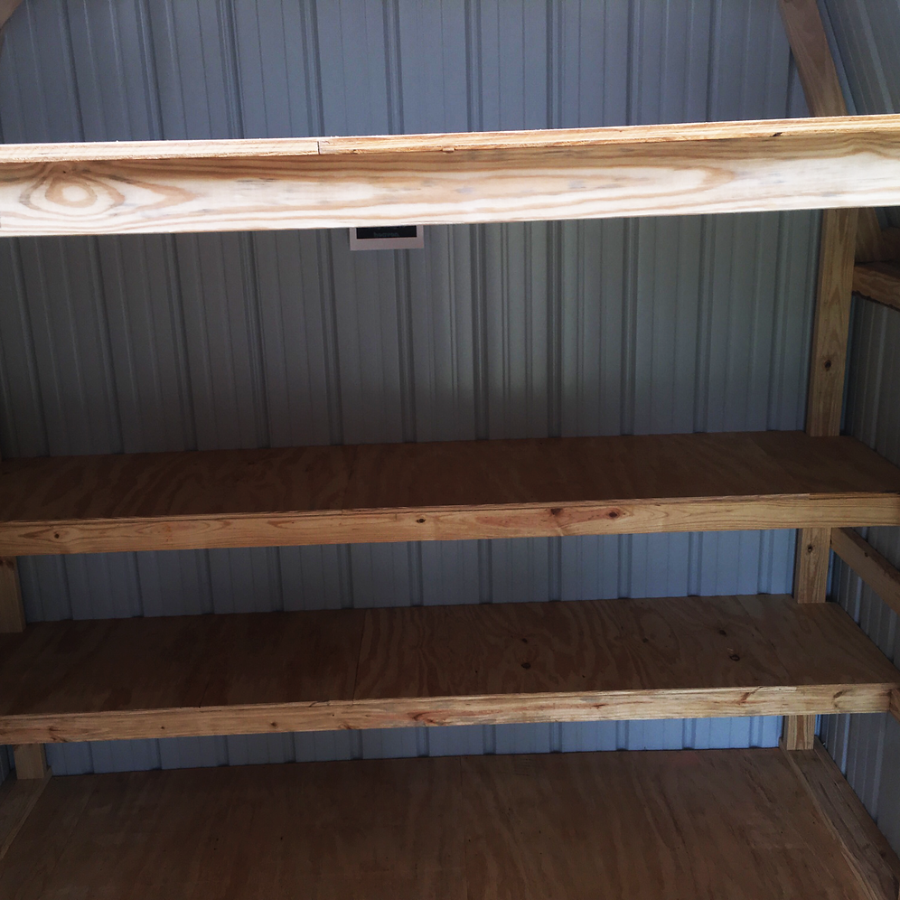 "9' X 15' Metal ""Lofted Barn"""