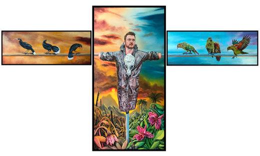 Playing God (takaro atua) triptych