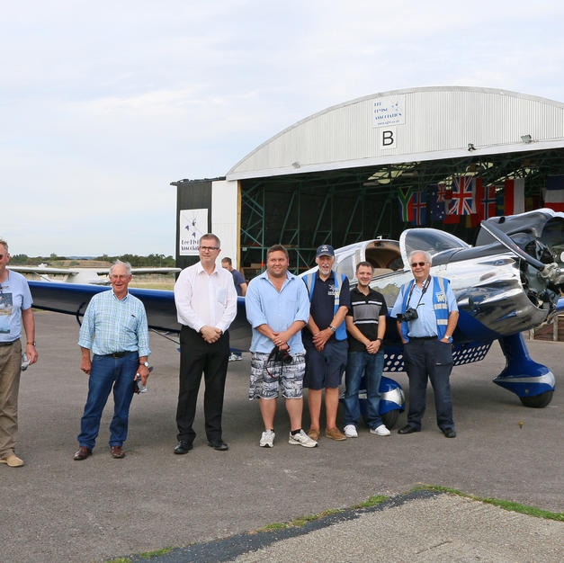 02198  LFA members and owner Steve Carte