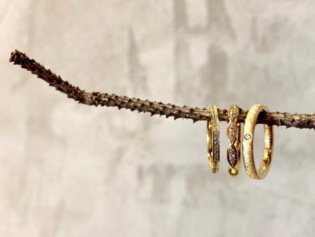 Moderne Trauringe VINTAGE GOLD