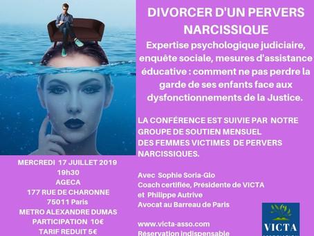 Conférence 17 juillet 2019 : Se préparer à l'expertise psychologique et à l'enquête sociale