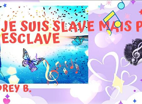 """VIDEO SLAM POETIQUE PAR AUDREY B. : """"JE SUIS SLAVE MAIS PAS ESCLAVE"""""""