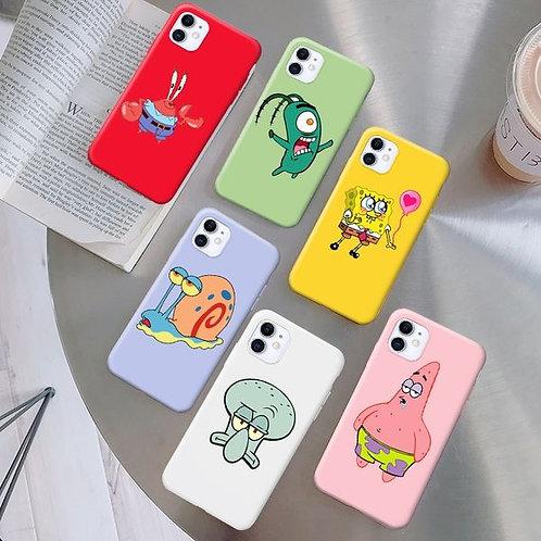 Spongebob Silicone Phone Case