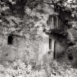 abandoned village Slapnik 2