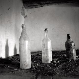 abandoned village Slapnik 13