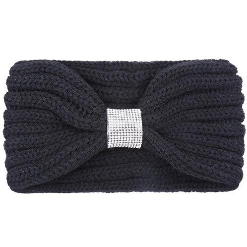 Sparkle Black Headwrap