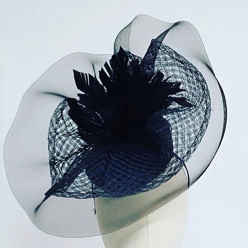 Black Crin Headpiece