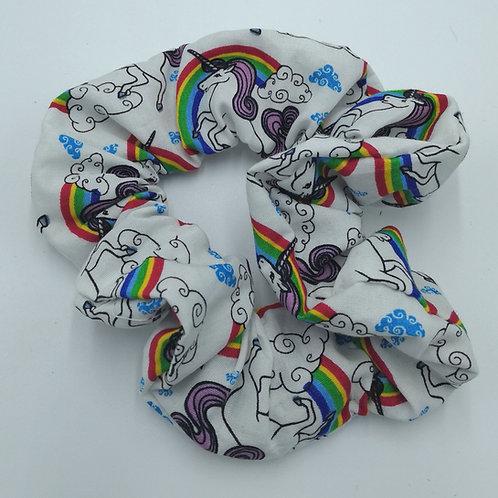 Rainbow Unicorn Scrunchie 🦄