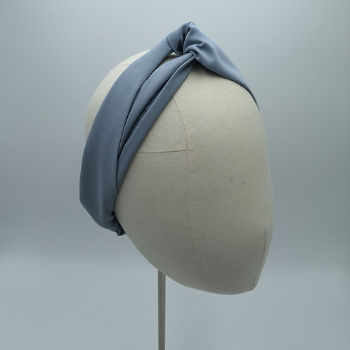 Cool Blue Grey Headwrap